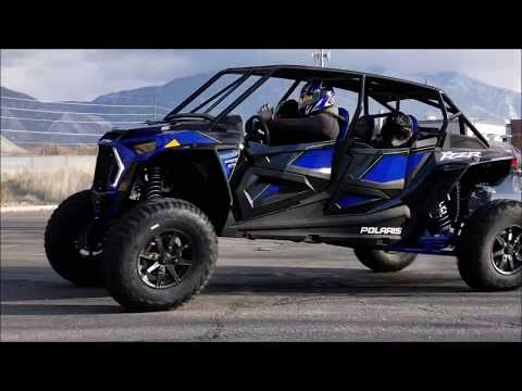 "2019 RZR Turbo S 4 seat ""Beast"" drifting and tipping...."