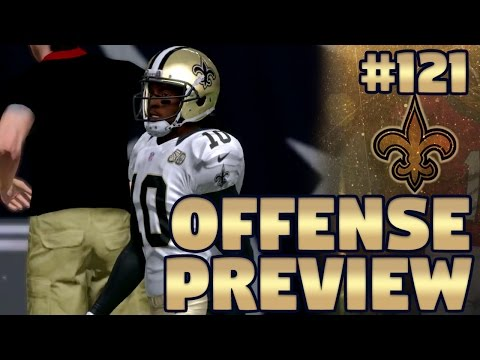 S3 Offense Preview, Cuts, and Lineup | Madden NFL 17 New Orleans Saints Franchise Ep. 121