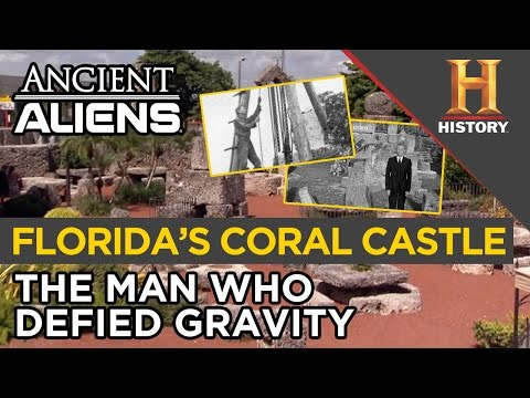 How Was Florida's Coral Castle Built without Modern Machinery? | Ancient Aliens