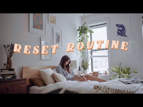 my reset morning routine *getting my life together*