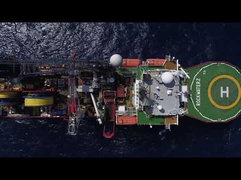 ROCKWATER 2 VESSEL - Offshore Cable Laying -  BOSIET Aerial Camera/Drone/Flycam Vietnam