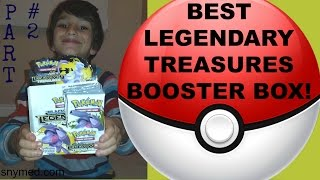 Best Pokemon Legendary Treasures Booster Box Video Part 2 of 2! CRAZY PULLS! Jenna Em Channel