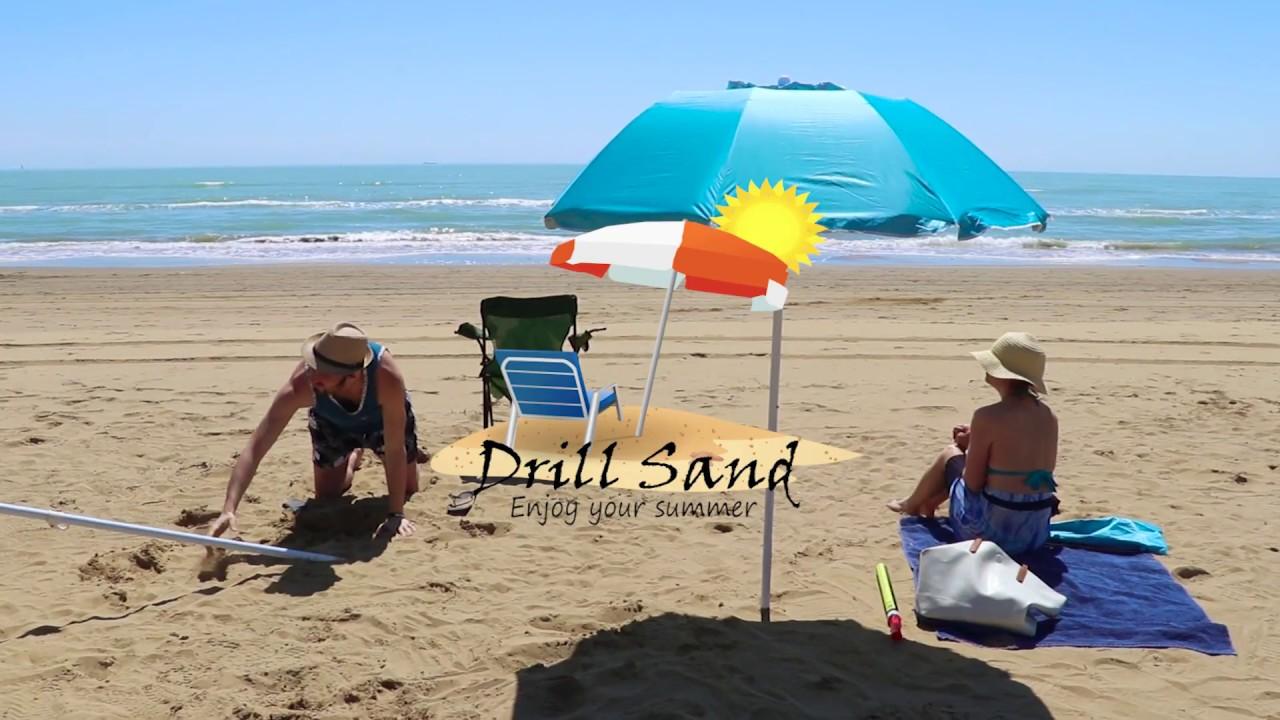 Drill Sand Enjoy Your Summer