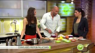 Csokis protein palacsinta, próbáld ki Te is! - 2015.02.17. - tv2.hu/fem3cafe