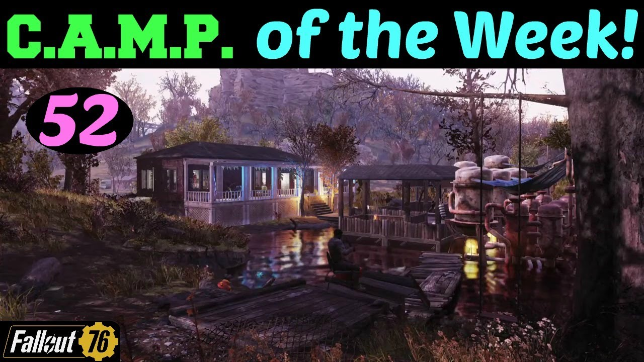 Fallout 76: CAMP of the Week! 52