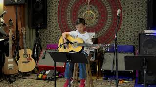 Felix Performing Lil Liza Jane Main Street Music and Art Studio