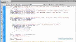 PHP Series - Building A PHP MySQL Forum Tutorial Series Part 6 - Email Integration