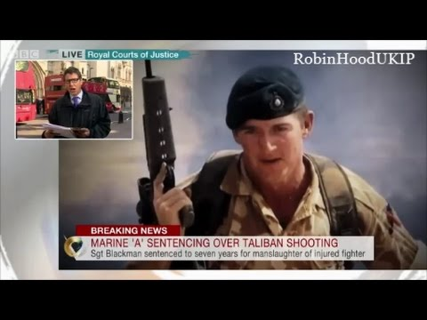 BREAKING NEWS Sgt Blackman will be freed in 2 weeks