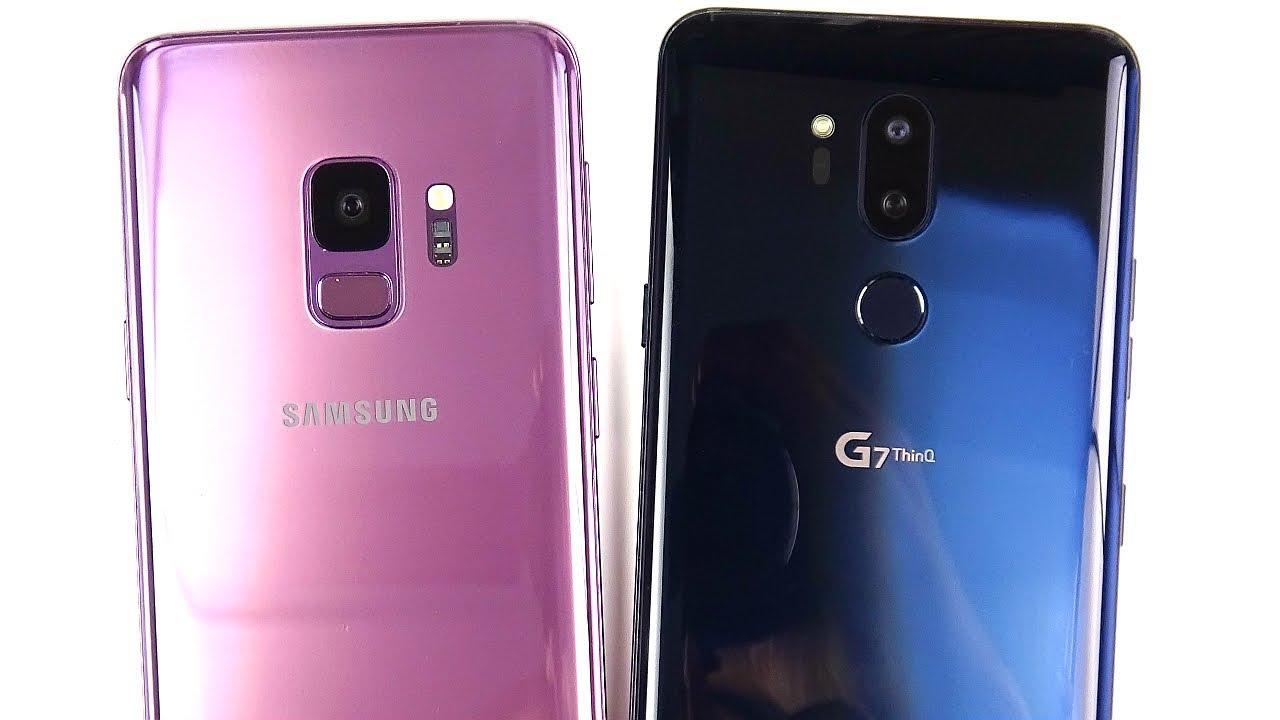 Lg g7 vs samsung s9 deutsch