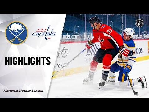 Sabres @ Capitals 2/18/21 | NHL Highlights