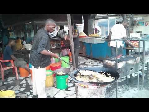 Street food in Temeke, Dar es Salaam, Tanzania