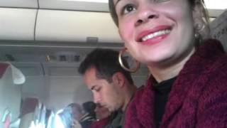 Primeira vez andando de avião (Dani) - Édi SR