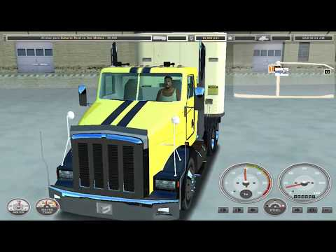 La Leyenda 18 Wheels Of Steel Haulin 2006 2017| Kenworth T800 Cabina De Dia
