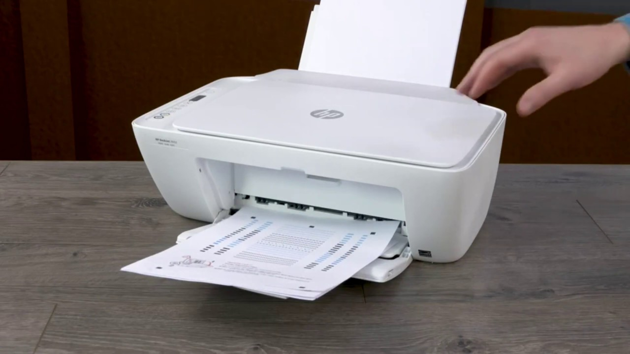 HOW TO UNPACK AND SET UP THE HP DESKJET 2600 ALL-IN-ONE ...