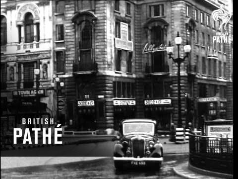 Regent Street Bombed - October 1940  (1940)