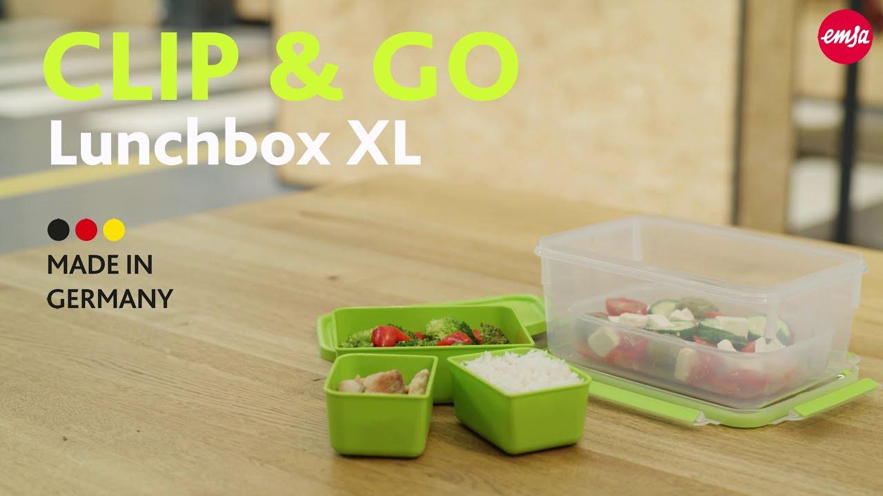 Hộp Đựng Thực Phẩm Emsa N1071600 CLIP & GO Lunchbox XL 2,2L - Nhập Khẩu Từ  Đức - Nhập Khẩu Đức   Minh HouseWares
