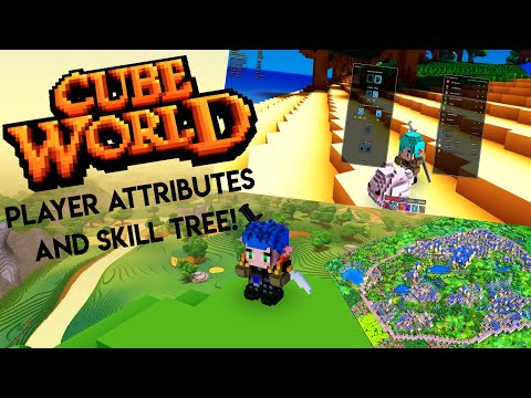 Cube World News: Wollays Back! Updated Player Attributes & New Skill Tree!