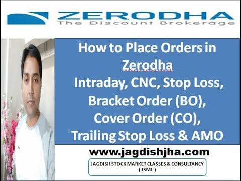 Download How To Place Orders In Zerodha Intraday Cnc Stop Loss