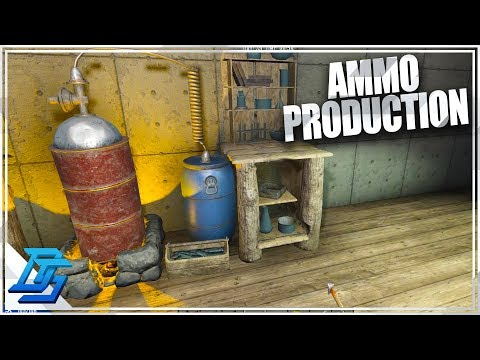 CHEM BENCH ONLINE, AMMO PRODUCTION !  - 7 Days To Die - S2- Pt. 36 (Alpha 16)