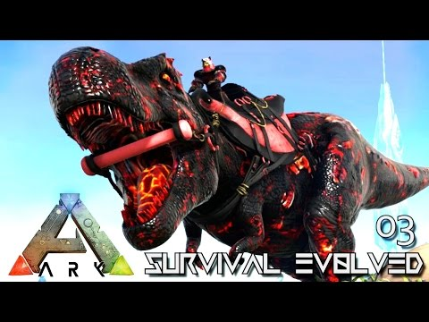 ARK: SURVIVAL EVOLVED - NEW SUPER TREX TAME CONFLAGRANT !!! E03 (MODDED ARK PUGNACIA DINOS)