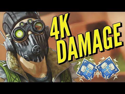 4000 Damage With Octane In Season 3 - APEX LEGENDS PS4