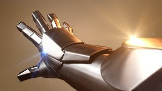This guy makes real Iron Man armor in metal