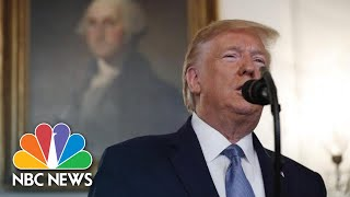 Trump On Syria: 'Let Someone Else Fight Over This Long Bloodstained Sand' | NBC News