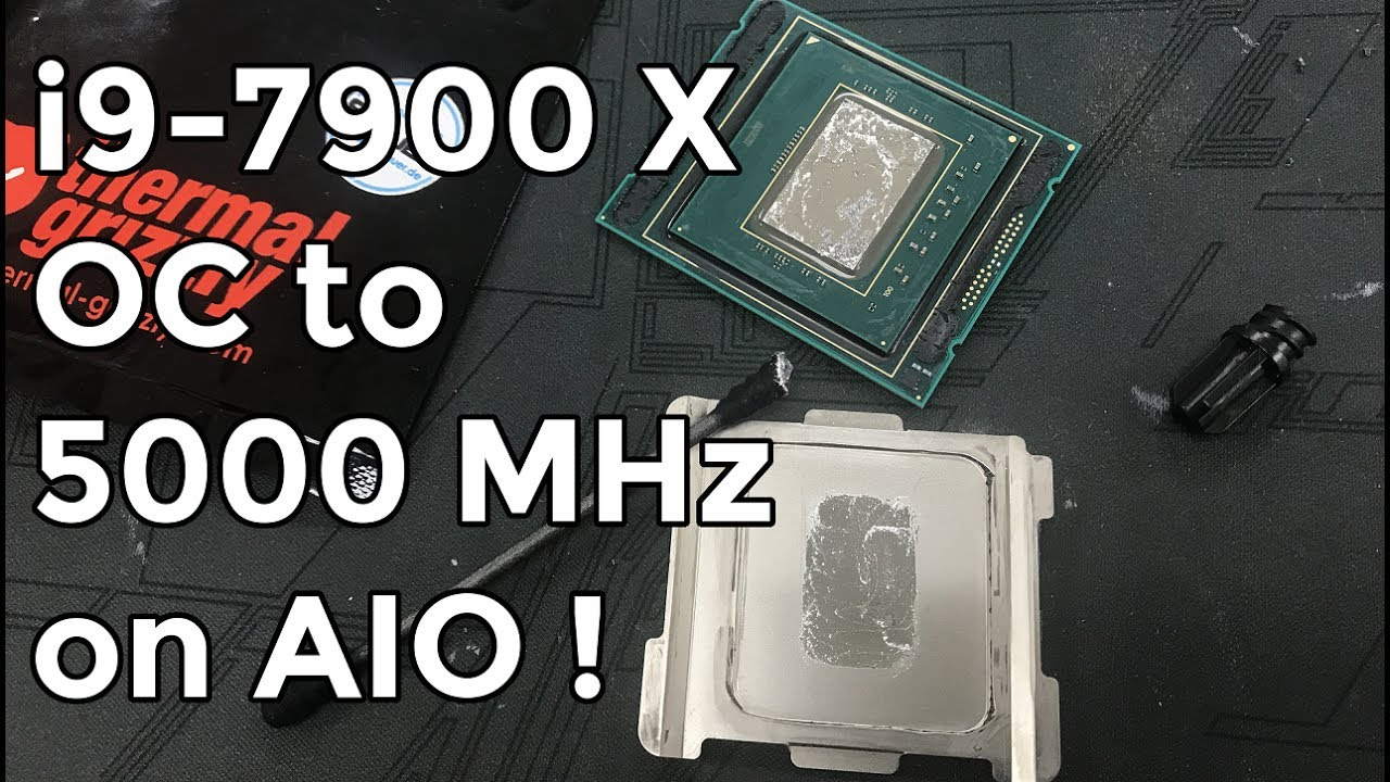 You can get Intel's Core i9-7900X up to 5GHz… but would you