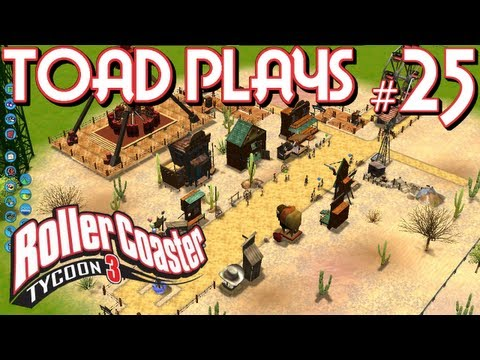 Roller Coaster Tycoon 3 - Part 25 - WELCOME TO THE WILD WEST