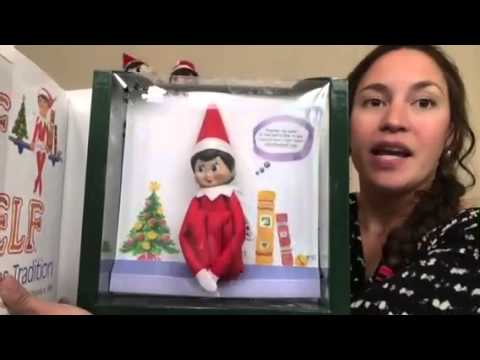 Un Boxing Of An Elf On The Shelf Girl And Contest Giveaway