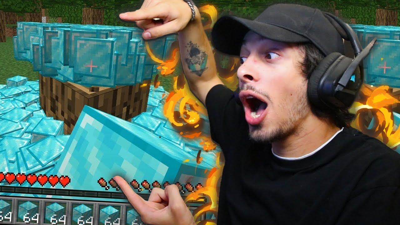 რენდომ დროპები!!! | Minecraft, But Every Drop is Random