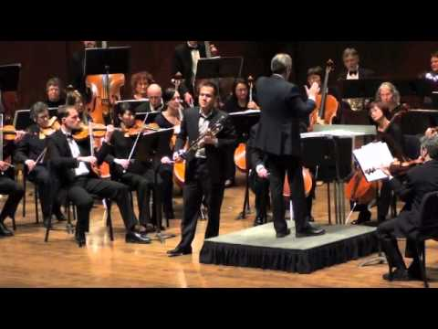 RAYMOND DELEON - Arutunian Concerto with Seattle Philharmonic