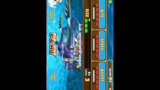 Hướng Dẫn Hack kim cương và tiền trong game Hungry Shark ( máy đã jailbreak)