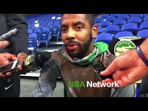 Kyrie Irving Not Thrilled with Mecca Throwback Court!