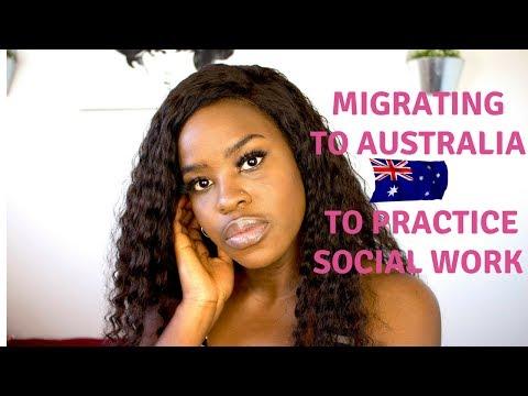 Migrating to Australia To Work | Social Work
