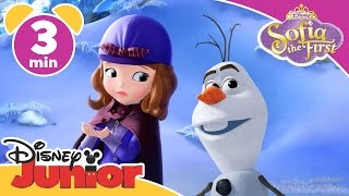 Sofia the First | It's Olaf! | Disney Junior UK