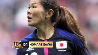 Les légendes du foot féminin