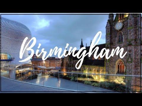 BIRMINGHAM, ENGLAND | TRAVEL VLOG 2017 | REENIE