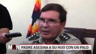 08/10/2015-20:01 PADRE ASESINA A SU HIJO CON UN PALO