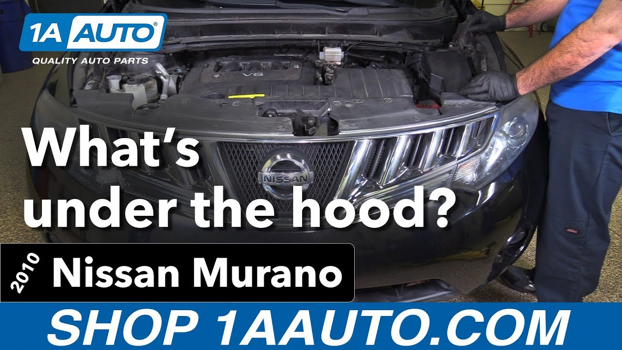 what's under the hood of your nissan murano?