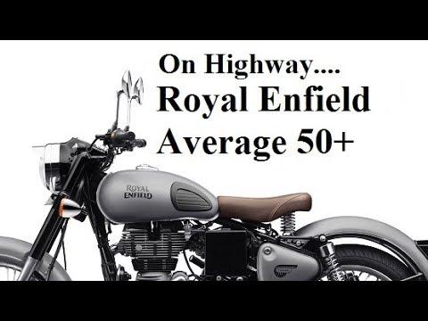 Royal Enfield Gunmetal Grey Average on Highway 50+