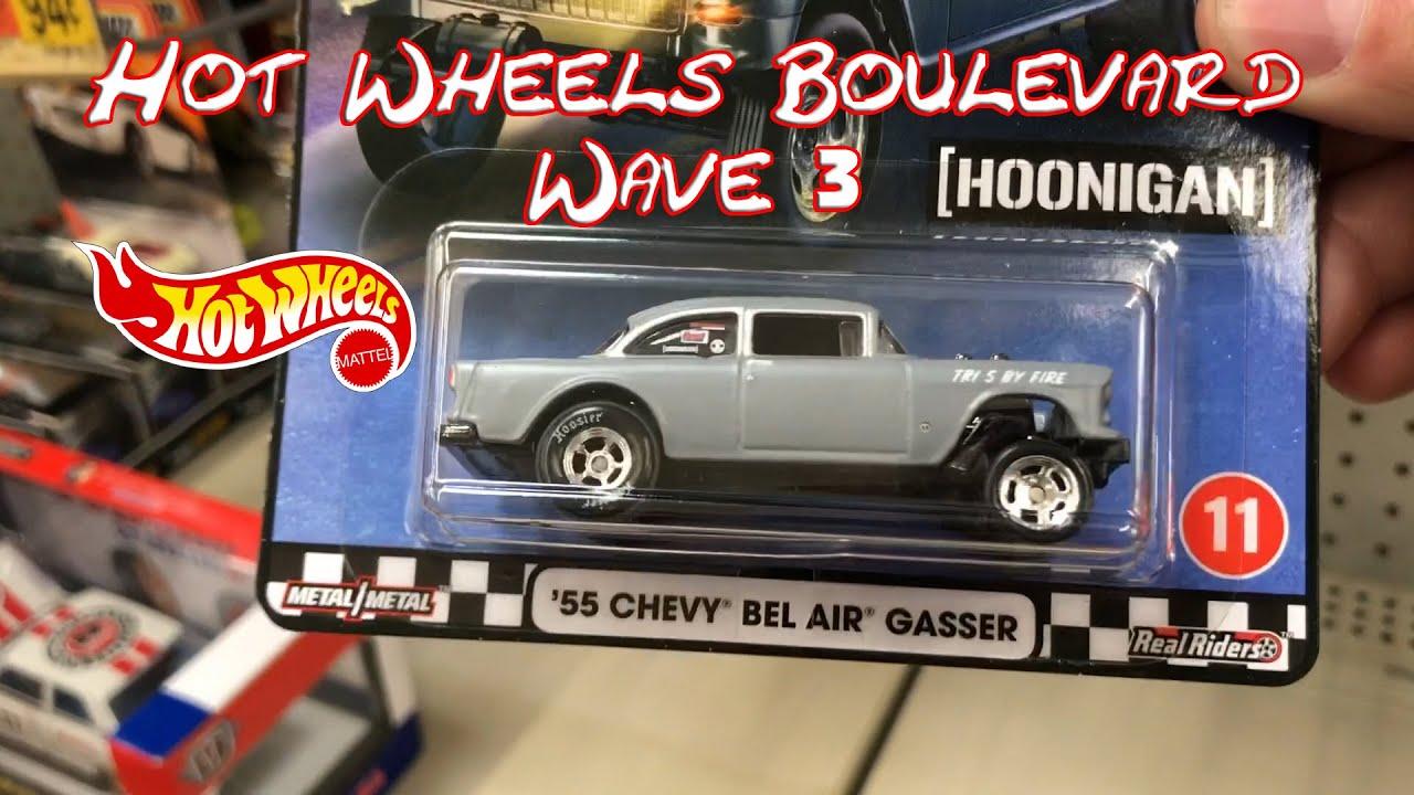 Hot Wheels Boulevard Wave 3