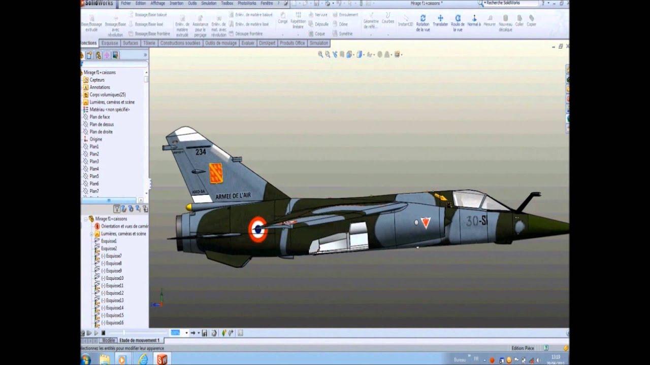 avion de chasse mirage f1 youtube. Black Bedroom Furniture Sets. Home Design Ideas