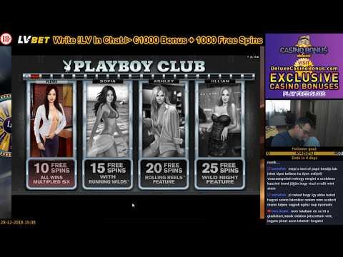 PLAYBOY 🎰 Microgaming Casino Slots 💲 Free Spins 124X BIG WIN 💲