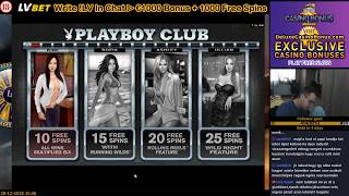 PLAYBOY 🎰 Microgaming Casino Slots 💲 Free Spins 124X BIG WIN 💲