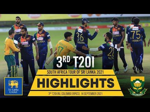 Download 3rd T20I Highlights | Sri Lanka vs South Africa 2021