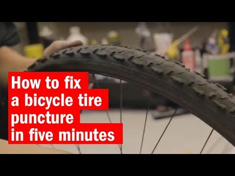 How to fix a bicycle tire puncture in five minutes | Time Out London