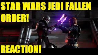 Star Wars Jedi Fallen Order Reveal Trailer Reaction / Thoughts!