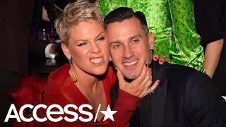 Pink Reveals She Slashed Carey Hart's Tires On Thanksgiving! | Access