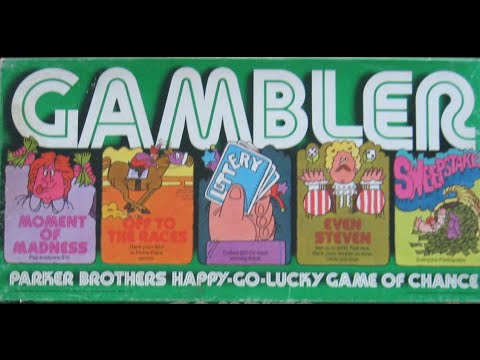 Ep 12: Gambler Board Game Review (Parker Brothers 1977)